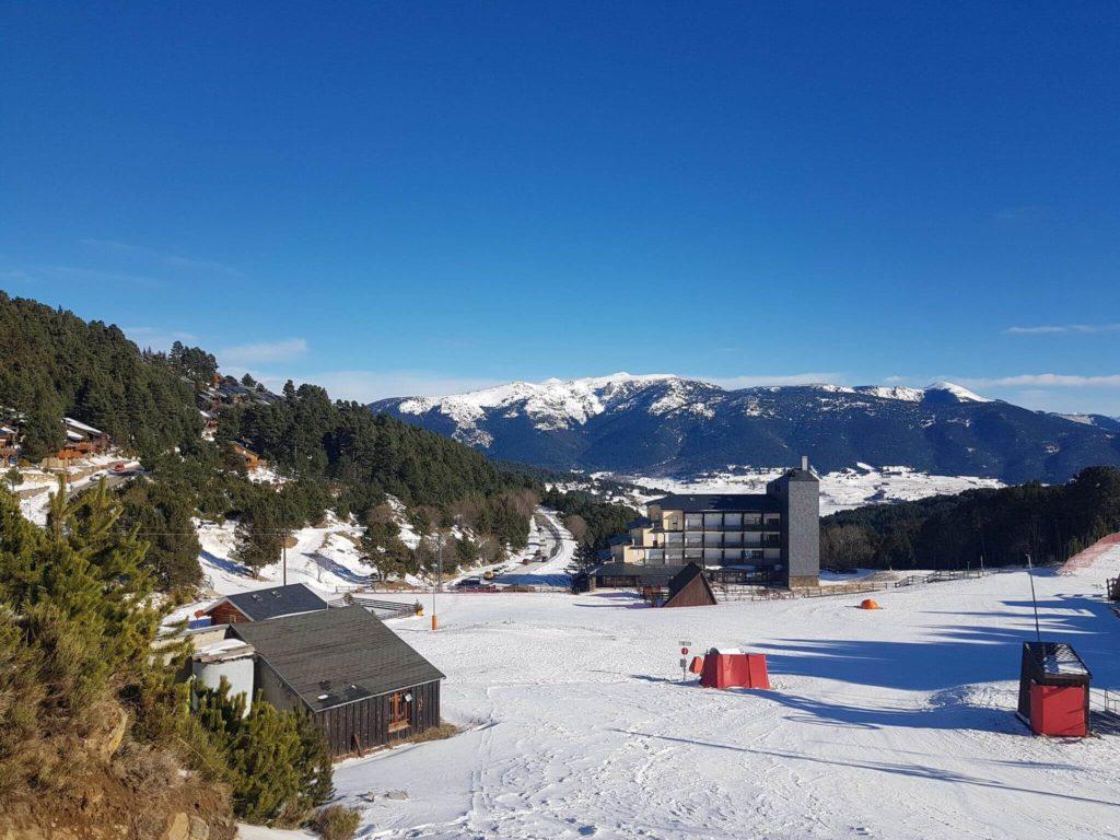 Skigebiete Frankreich- Pyrenäen Puyvalador